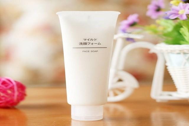 Review sữa rửa mặt MUJI FACE SOAP
