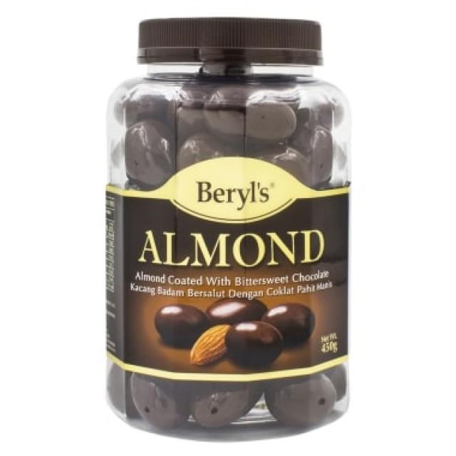 Beryl's Chocolate Hạnh nhân phủ socola đắng 450g