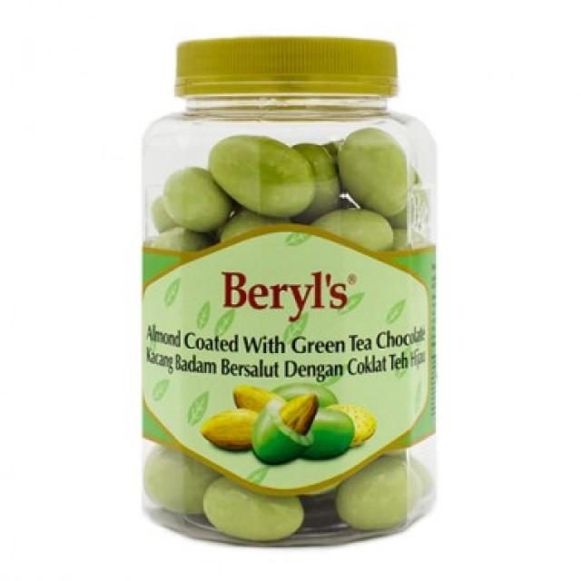 Beryl's Chocolate Hạnh nhân phủ socola trà xanh 410g