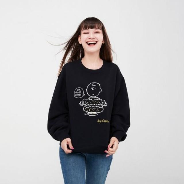 Áo thun nữ tay dài Uniqlo Peanuts UT Graphic