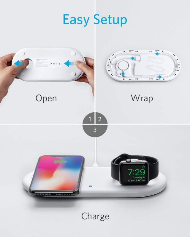 Đế sạc không dây Anker dành cho Apple chính hãng USA