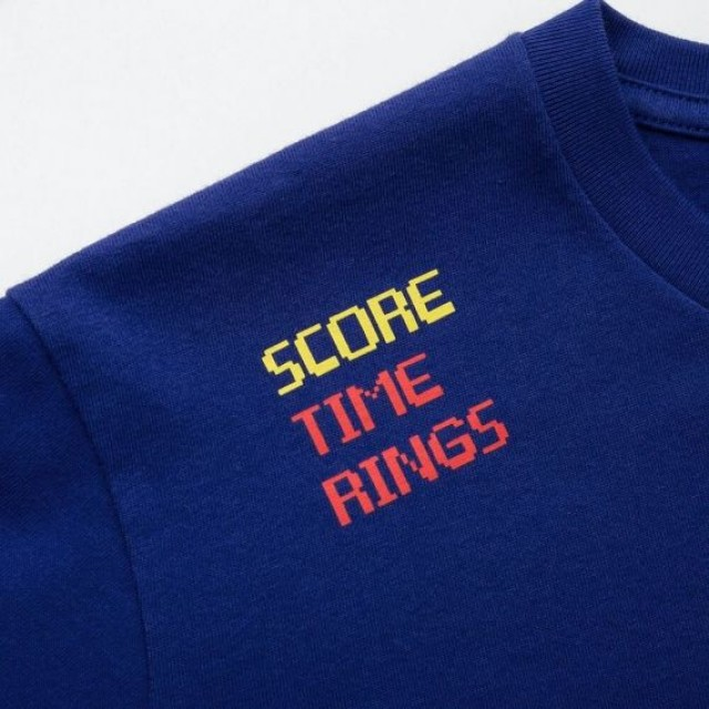Áo thun T - Shirt nam Uniqlo The Game Classic Pixels UT Sonic