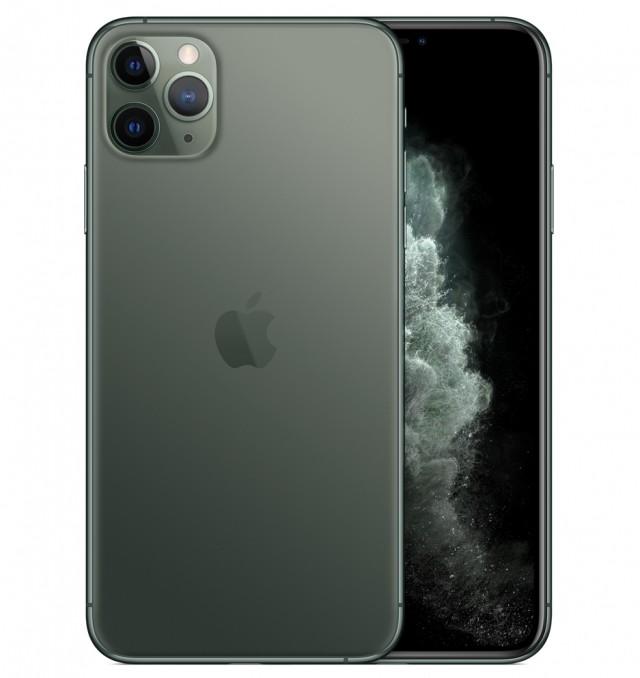 Điện thoại Apple IPHONE 11 PRO MAX 512GB MIDNIGHT GREEN - HÀNG SINGAPORE