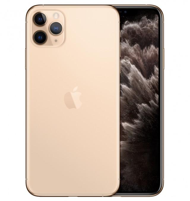 Điện thoại Apple IPHONE 11 PRO MAX 64GB GOLD - HÀNG SINGAPORE