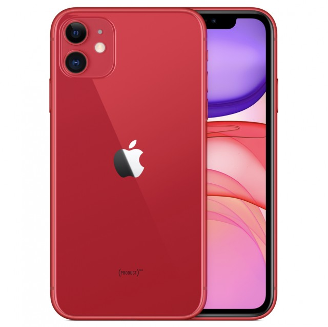 Điện thoại Apple IPHONE 11 64GB PRODUCT (RED) - HÀNG SINGAPORE