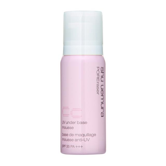 Kem lót chống nắng Shu Uemura UV under base mousse POREraser CC pink
