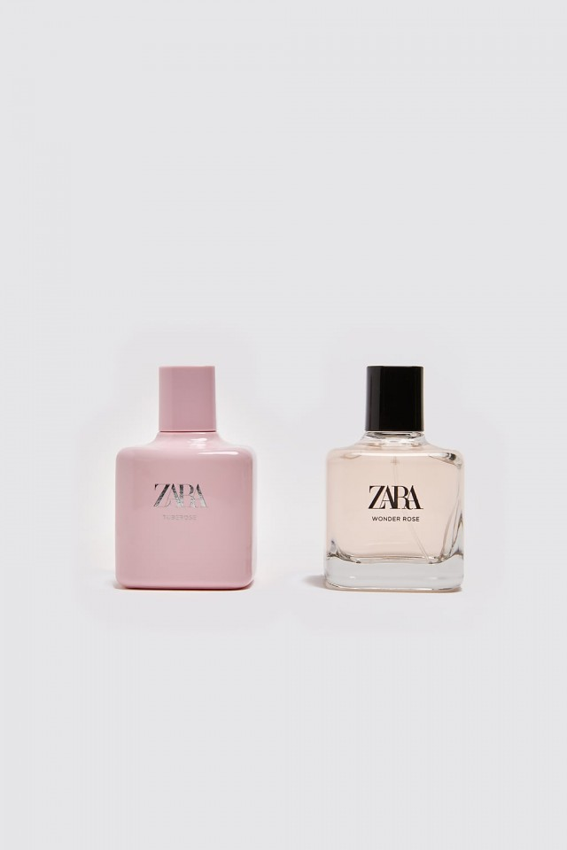 Nước hoa ZARA SET 2 CHAI WONDER ROSE 100ML & TUBEROSE 100ML