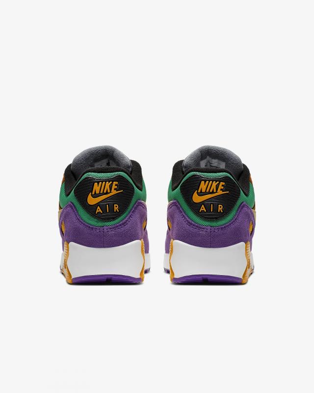 Giày thời trang nam Nike Air Max 90 - Purple/Orange/Red/White