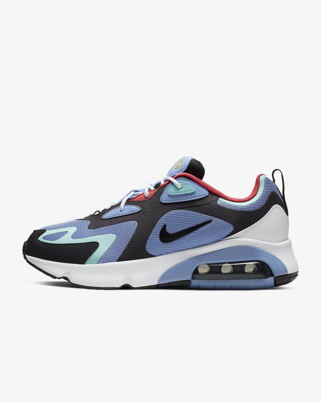 Giày thời trang nam Nike Air Max 200 - Blue/Black/White