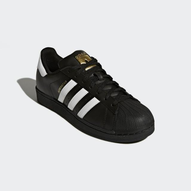 Giày thời trang nam Adidas Superstar FOUNDATION - Black/White
