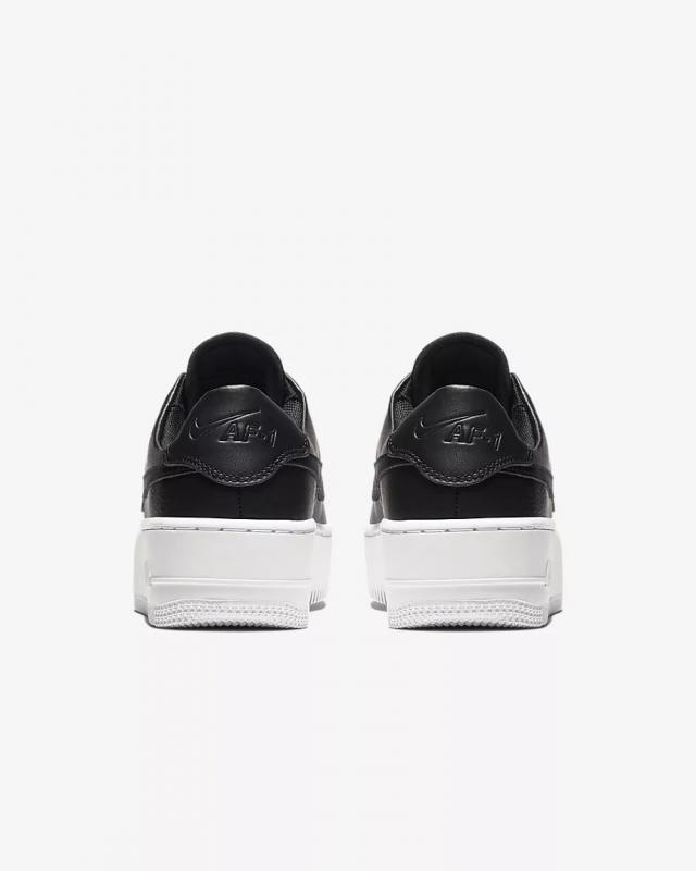 Giày thời trang nữ Nike Air Force 1 Sage Low - Black/White