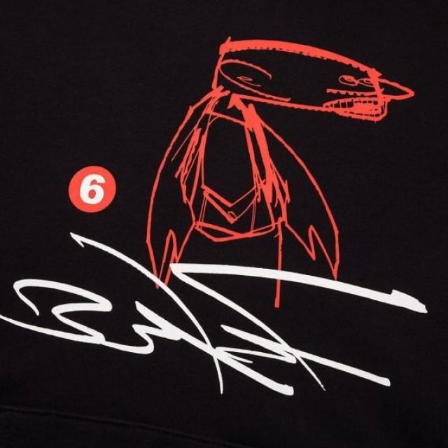 Áo hoodie nam Uniqlo MEN Urban Walls Sweat Pullover Long Sleeve