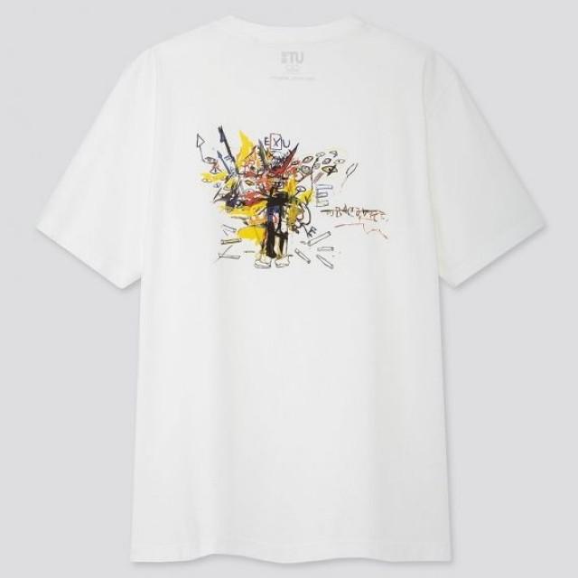 Áo thun nam cổ tròn Uniqlo Crossing Lines UT Jean-Michel Basquiat