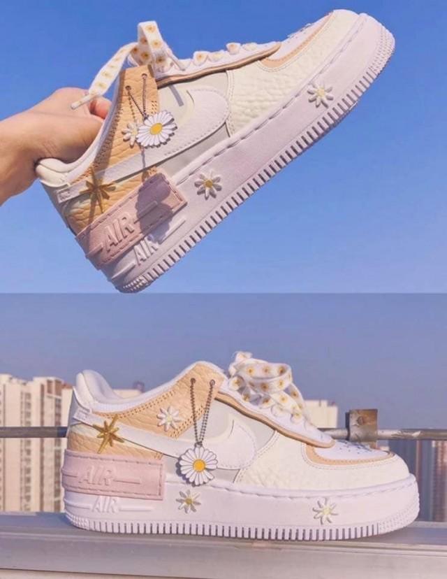 Giày nữ Nike Air Force 1 Shadow SE Spruce Aura