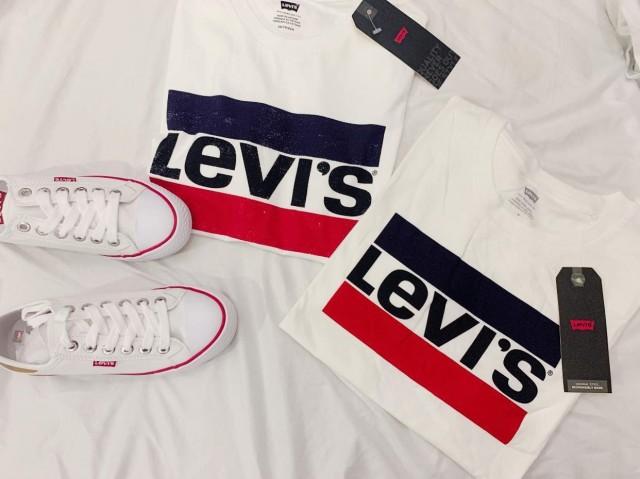 Áo thun nam nữ cao cấp Levi's Malaysia
