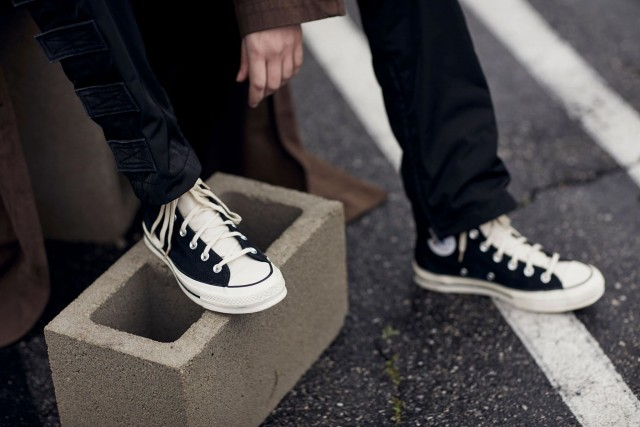 Giày nam Converse x Fog Essentials hàng USA