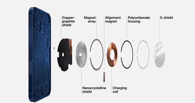 Điện thoại iPHONE 12 Pro Max Silver 128GB hàng xách tay Mỹ