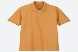 Áo thun polo UNIQLO nam - Màu vàng đậm