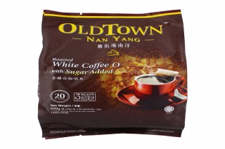 Cà Phê OLD TOWN Nan Yang White Coffee O Sugar Added
