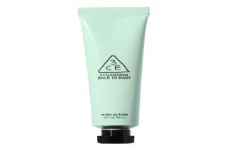 Kem lót 3CE Back To Baby Make Up Base Mint Green