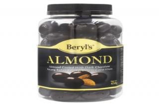 Beryl's Chocolate Hạnh nhân phủ socola đen 450g