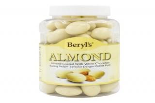 Beryl's Chocolate Hạnh nhân phủ socola trắng 450g