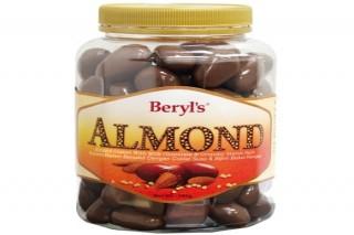 Beryl's Chocolate Hạnh nhân phủ socola sữa 380g