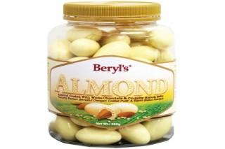 Beryl's Chocolate Hạnh nhân phủ socola trắng & Malf Puff 380g