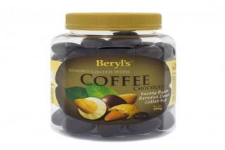 Beryl's Chocolate Hạnh nhân phủ socola cà phê 350g