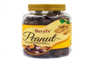 Beryl's Chocolate Đậu phộng phủ socola sữa 350g