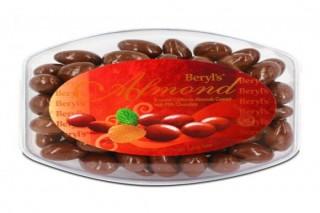 Beryl's Chocolate Hạnh nhân phủ socola sữa 500g