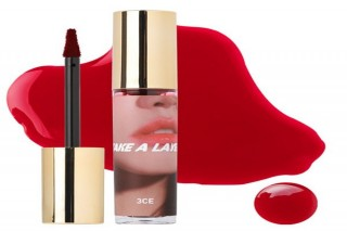 Son Tint3CETake A Layer Tinted Water Lip Tint Spicy Red