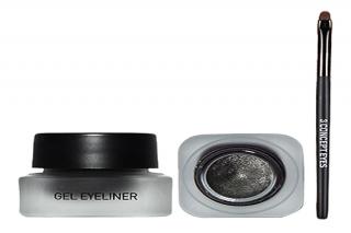 Kẻ mắt gel 3CE Gel Eyeliner Glitter Black màu đen có nhũ