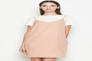 Đầm ngắn hồng Padini nữ tính