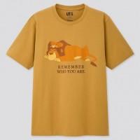 Áo thun nam cổ tròn Uniqlo Lion King (UT Graphic)