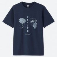 Áo thun nam cổ tròn Uniqlo Naruto (Manga UT Graphic)