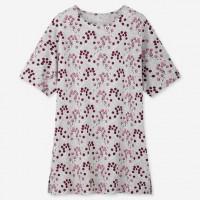 Áo nữ họa tiết đơn giản tay lửng Uniqlo EPICE DESIGN