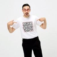 Áo thun nam Uniqlo Keith Haring Party of Life UT