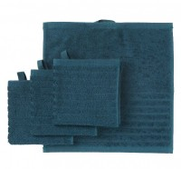Set 4 khăn mặt IKEA Vagsjon màu xanh bích khổ 30x30