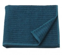 Khăn tắm VAGSJON IKEA màu xanh bích khổ 70x140