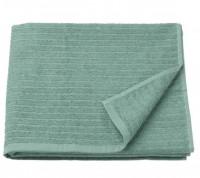 Khăn tắm VAGSJON IKEA màu xám-xanh lá khổ 70x140