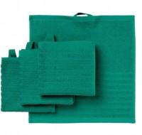 Khăn VAGSJON IKEA màu xanh lá đậm khổ 30x30