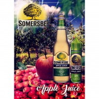 Tinh dầu VAPE Somersbe Garden PREMIUM 60ml Apple E-Juice - Malaysia