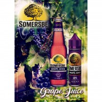 Tinh dầu VAPE Somersbe Garden PREMIUM 60ml Grape E-Juice - Malaysia