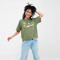 Áo thun nữ cổ tròn Uniqlo Peanuts UT Graphic