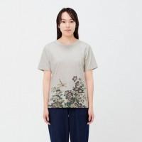 Áo thun nữ Uniqlo EDO UKIYO-E UT Katsushika Hokusai