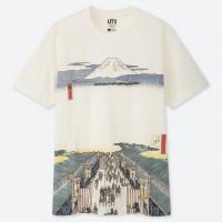 Áo thun nam Uniqlo EDO UKIYO-E UT Utagawa Hiroshige