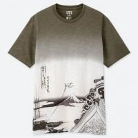 Áo thun nam Uniqlo EDO UKIYO-E UT Katsushika Hokusai