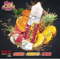 Tinh dầu E-juice King Cloudz Premium Ice Freeze High VG Orange Pineapple Lychee