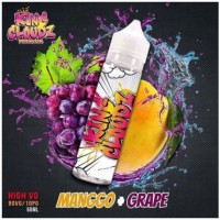 Tinh dầu E-juice King Cloudz Premium Ice Freeze High VG Mango Grape